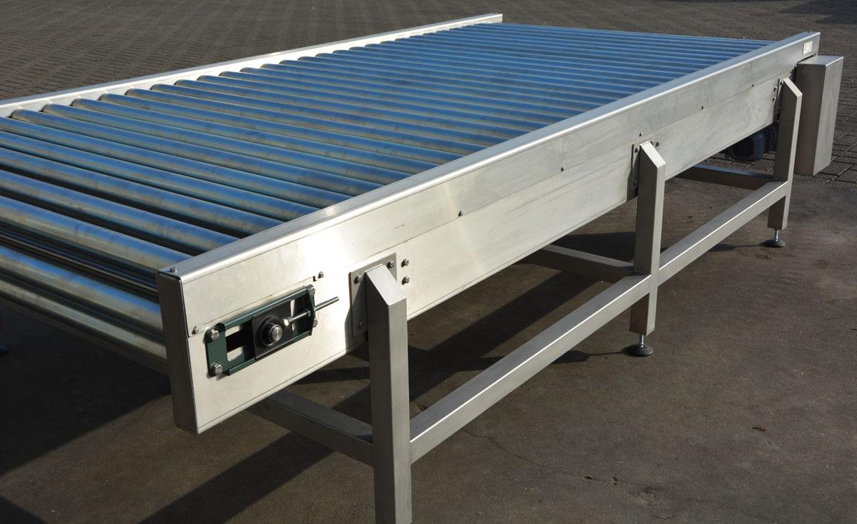 Chain Driven Roller Conveyors Pallet Amp Container