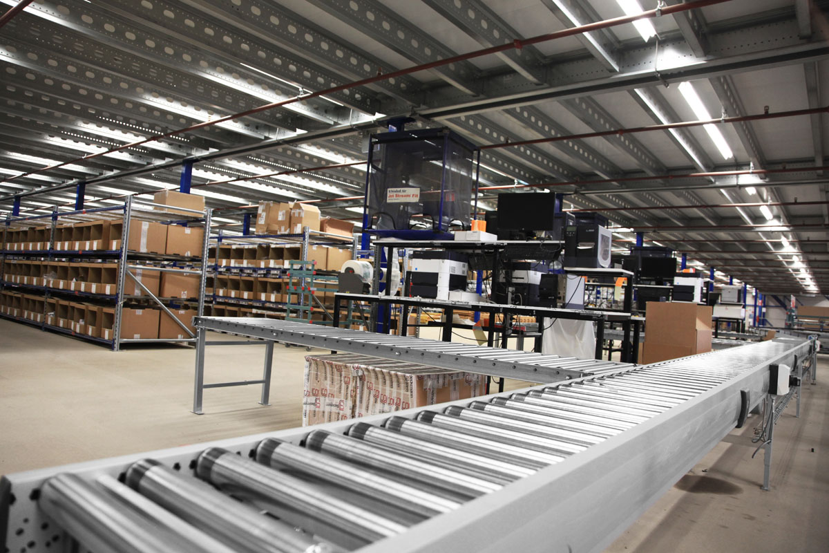 Roller Conveyors Easy Systems