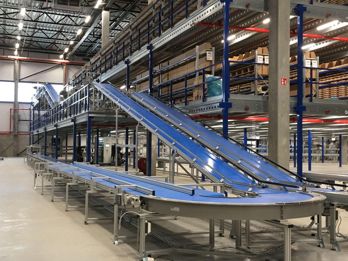 Incline Belt Conveyor Belt Conveyors