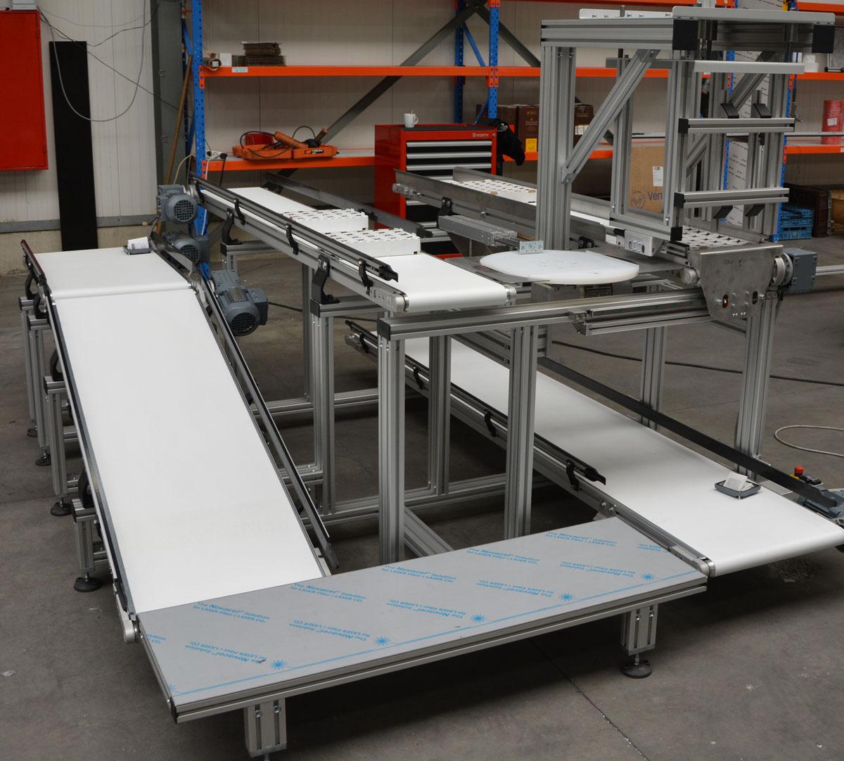Flat belts, mini-conveyor belts - Belt conveyors - Easy Systems