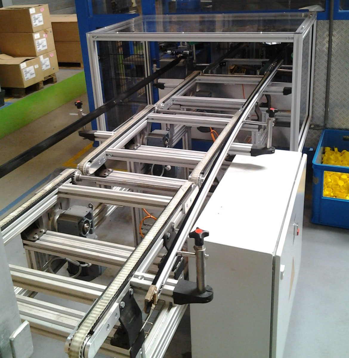 Timing Belt Conveyors Multiple Systems Easy Drive Motor Belts For Dimensional Stability And Precise Guidance