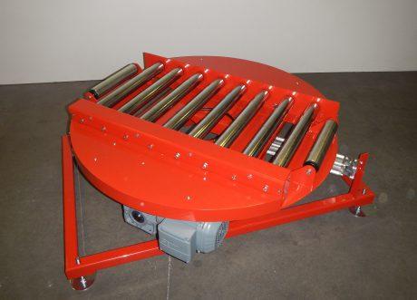 Drehscheiben paletten und containerbef rderung easy for Kettenschloss mit drehscheibensystem